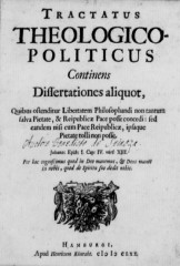 Littérature, Spinoza