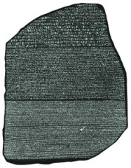 Bataille des Pyramides, Champollion