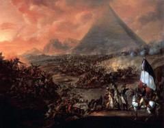 bataille des pyramides,champollion